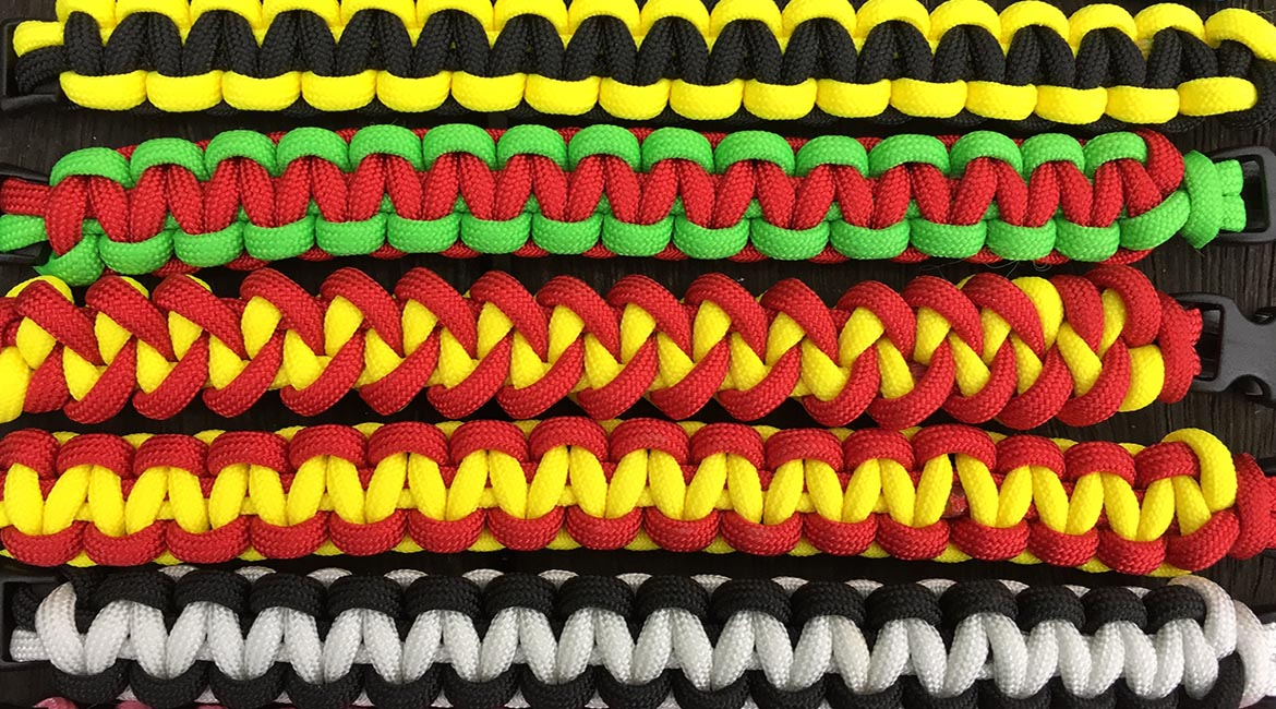 Paracord Bracelets by Survivalbands.co.uk