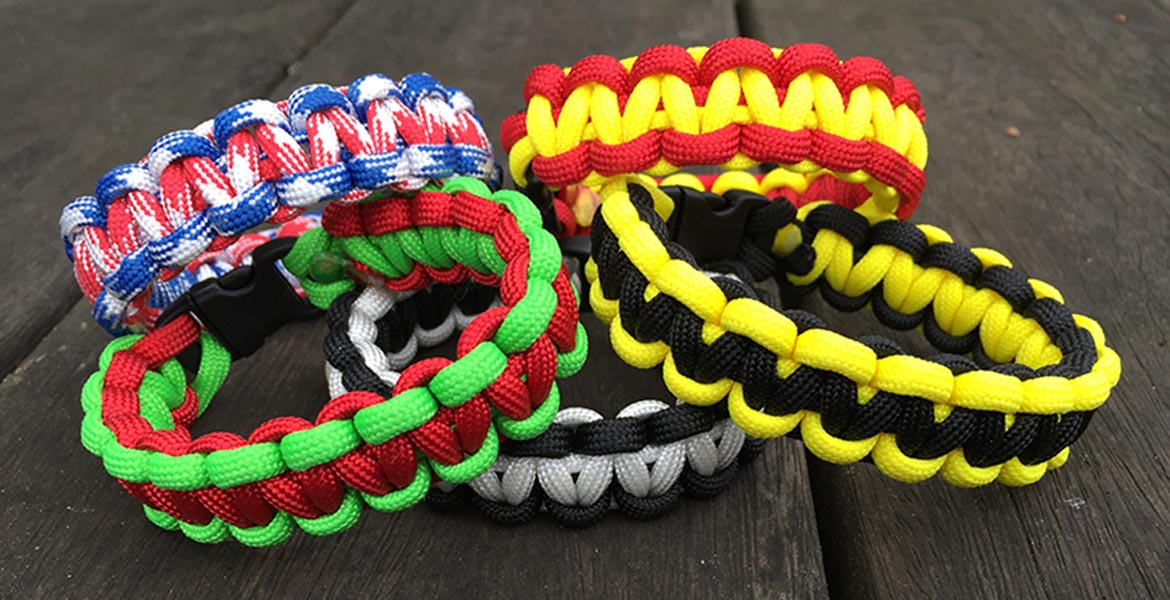 Paracord Bracelets & Survival Bands