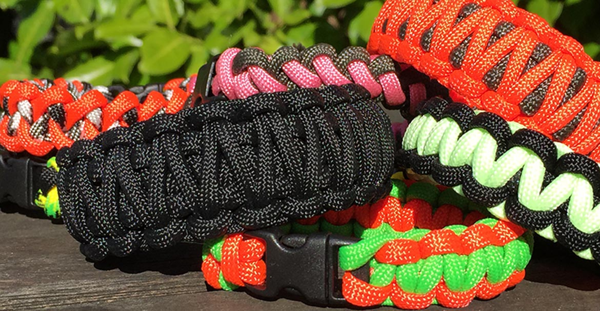 Survival Bands Paracord Bracelets
