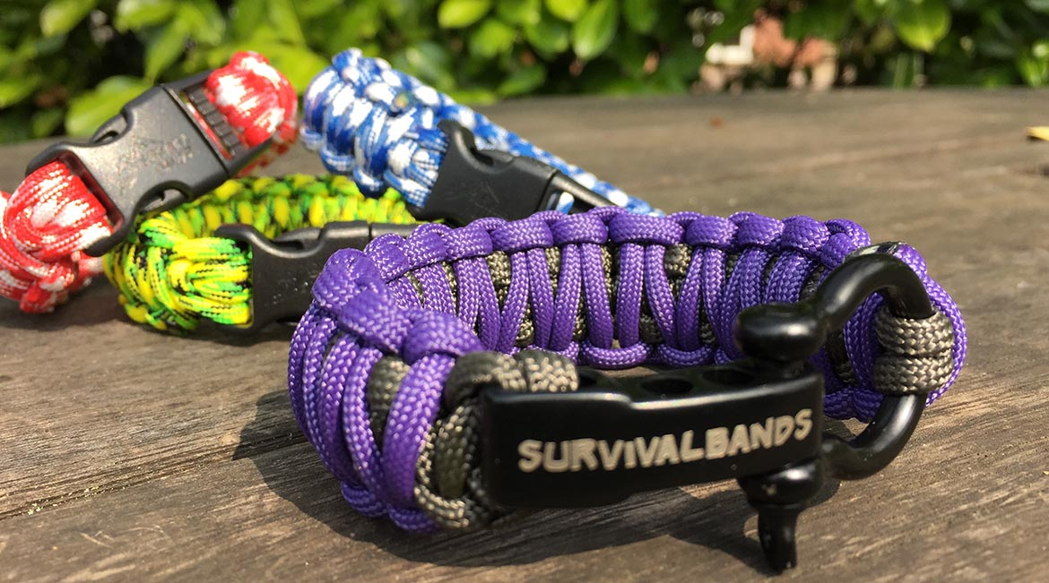 Survival Bands, Paracord Bracelets & Straps